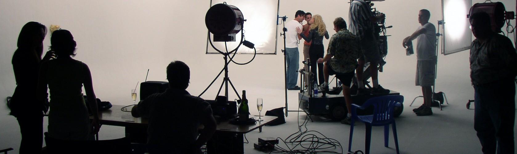 Music video shoot in studio Jan. 16th 2005 Miami Florida